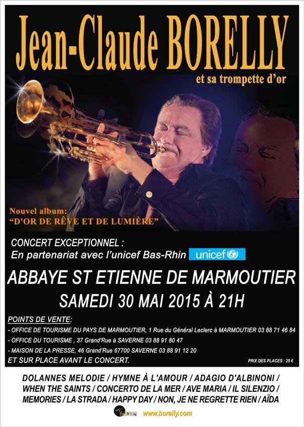 Concert Borelly marmoutier
