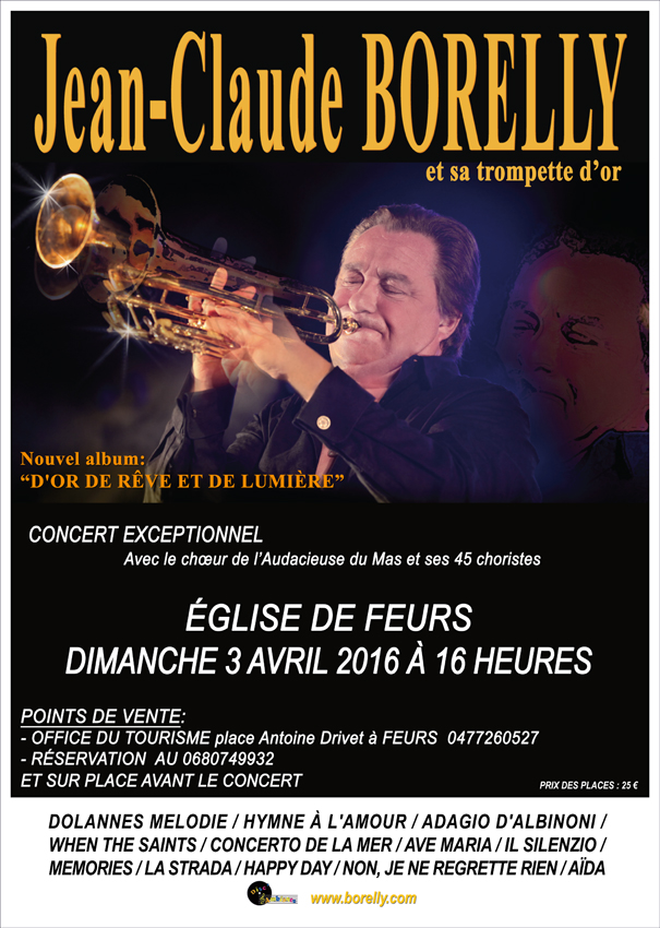 Jean-Claude Borelly en concert à Feurs