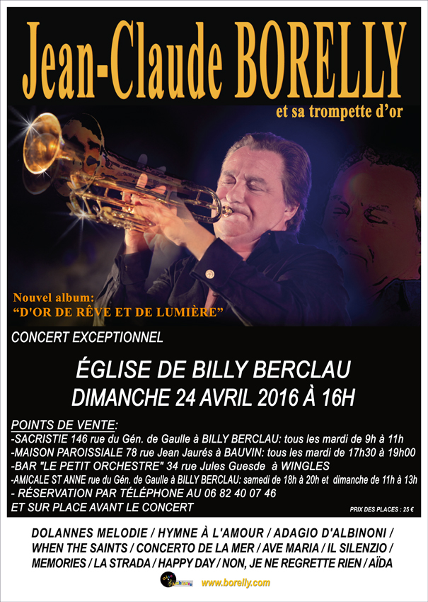affiche Billy Berclau