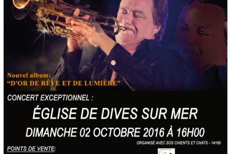 Concert à l'église de Dives-sur-mer à...