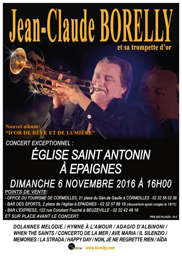 Affiche concert Épaignes