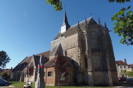 Rendez-vous à l'église de Pontorson,...