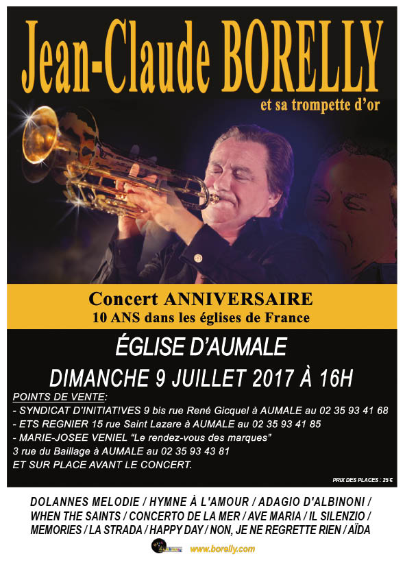 Concert église Saint-Pierre et Saint Paul à Aumale