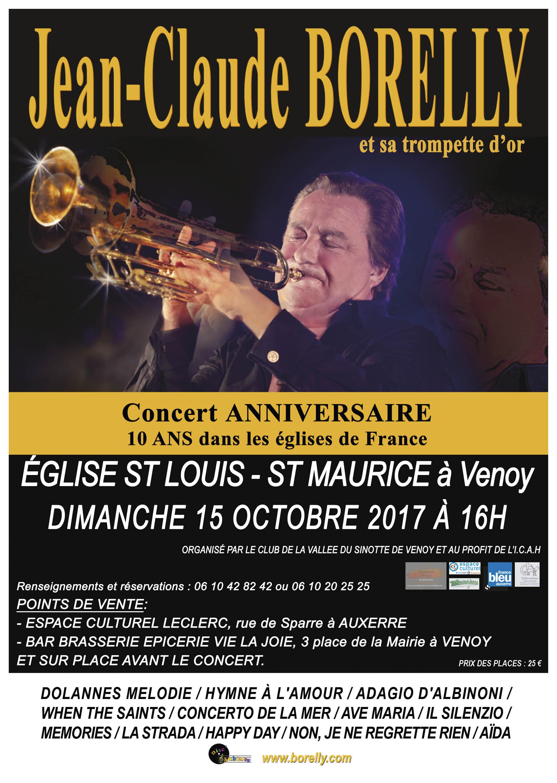 Concert du 15 octobre à Venoy
