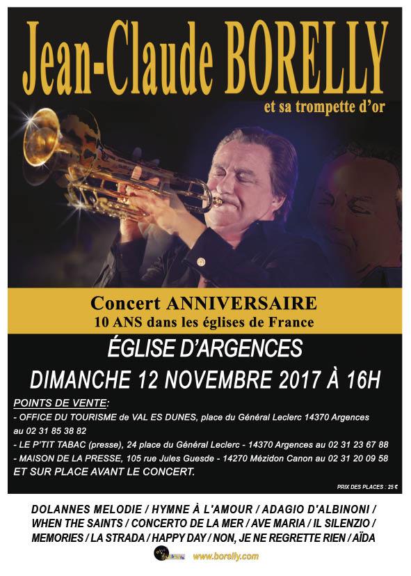 Concert à Argences, le 12 nombre 2017 par Jean-Claude Borelly