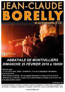Jean-Claude Borelly en concert, le dimanche 25 février, en l'abbatiale de Montivilliers à 16 heures
