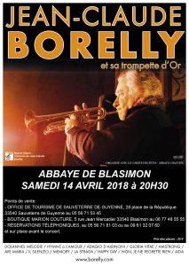 Jean-Claude Borelly en concert en l'église de Blasimont, le 14 avril