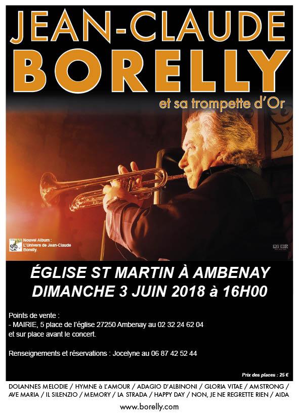 Concert à Ambenay, le 3 juin 2018 par Jean-Claude Borelly