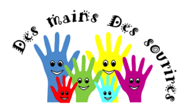 Logo association Des mains des sourires