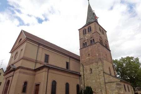Concert de Jean-Claude Borelly à l'église...
