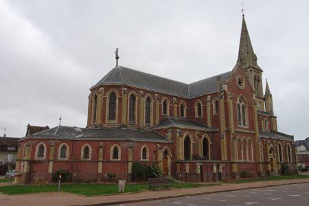 Jean-Claude Borelly en l'église d'Houlgate...