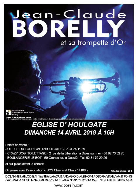 Affiche du concert du 14 avril 2019 à Houlgate