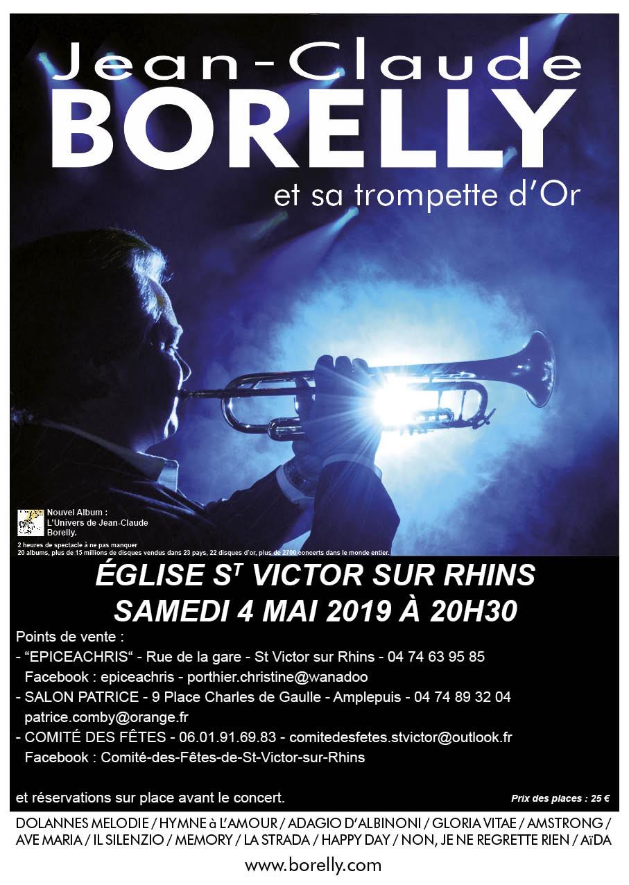 Concert à Saint-Victor-sur-Rhins, le 4 mai 2019