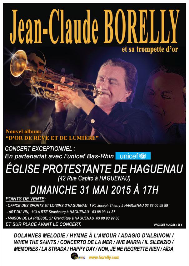 Concert Borelly pour l'UNICEF  haguenau
