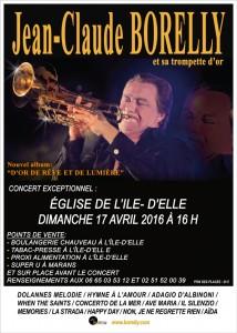 Concert de l'Ile-d'Elle, dimanche 17 avril 2016