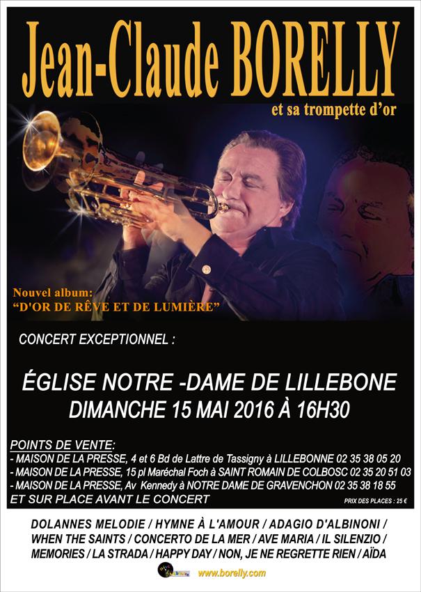 Affiche du concert à Lillebone
