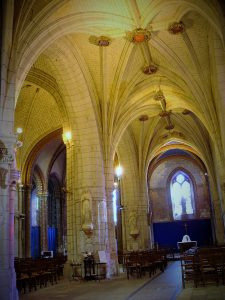 Eglise Saint Maurice, à Chinon