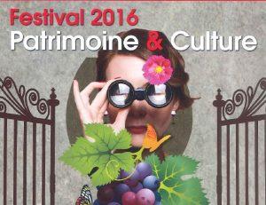 Festival 2016 Patrimoine Culture Lezignan Corbieres