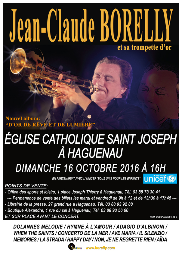 Affiche Concert Eglise catholique Saint Joseph