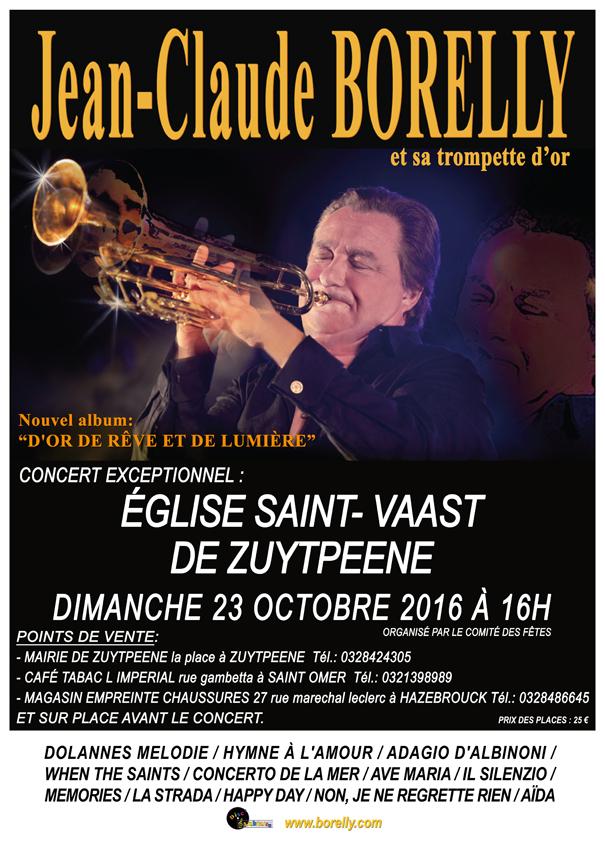 Affiche concert Zuytpeene