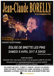 Concert à l'église Saint Martin de Brette les Pains, le samedi 8 avril à 20h30