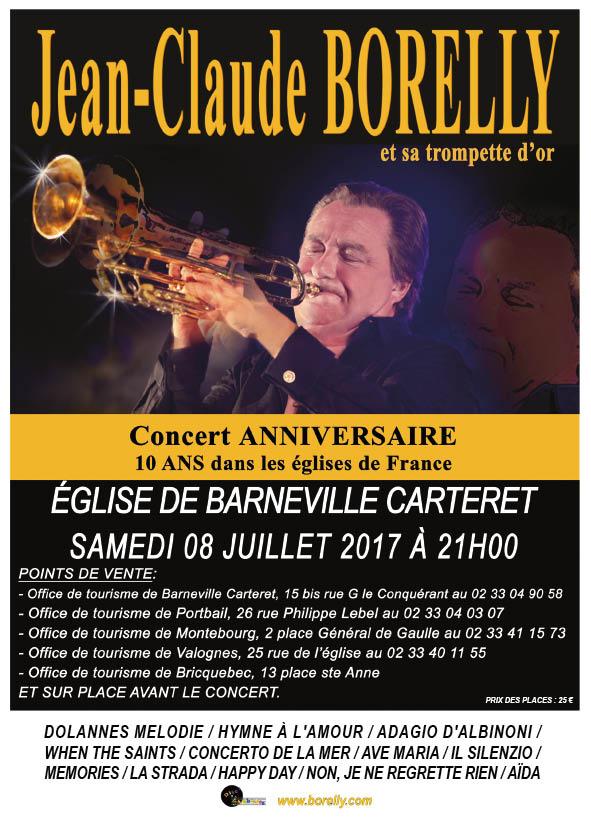 Concert église Saint-Germain à Barneville Carteret