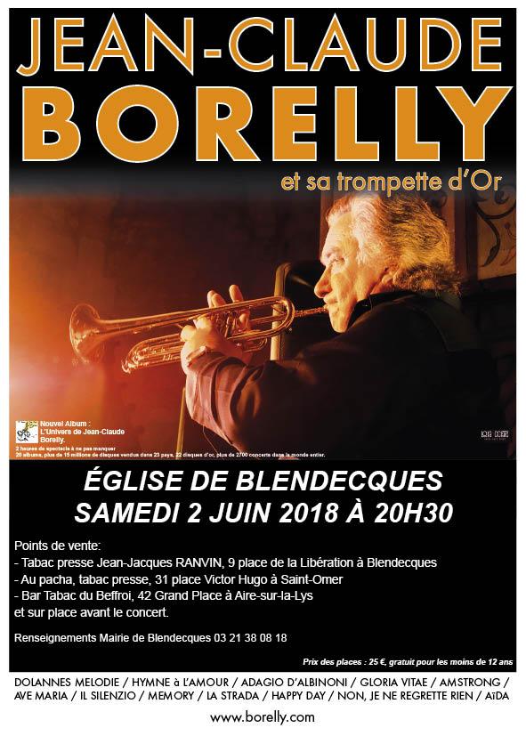 Concert à Blendecques, le 2 juin 2018 par Jean-Claude Borelly