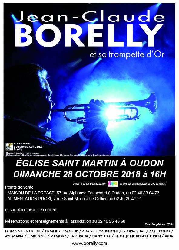 Concert à Oudon, le 28 octobre 2018