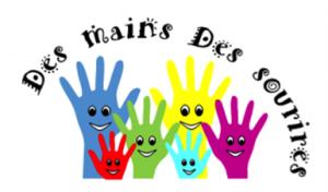 Logo association Des mains des sourires
