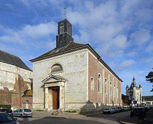 L'église Saint-Wulphy à Rue