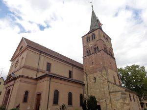 Concert de Jean-Claude Borelly en l'église Sainte Anne à Turkheim