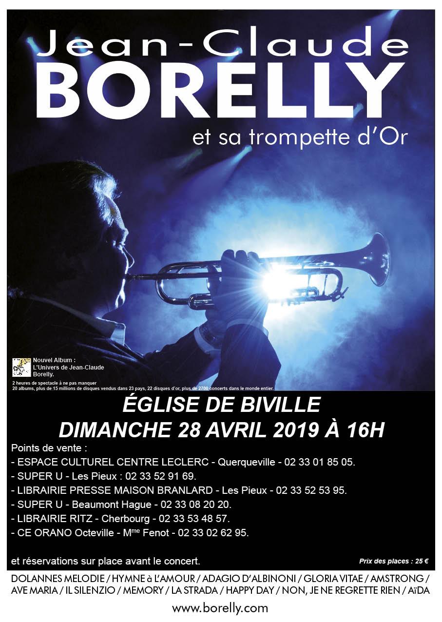Concert en l'église Saint Pierre de Biville le dimanche 28 avril à 16 heures