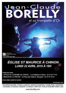 Concert en l'église de Chinon, le 22 avril 2019