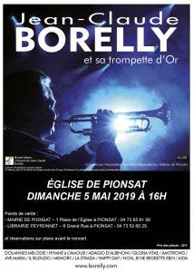 Concert à Pionsat, le 5 mai