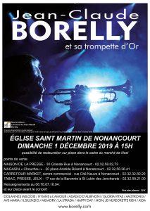 Concert à l'église Saint-Martin de Nonancourt à 16 heures, le dimanche 1er décembre