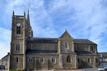 Concert à La Haye du Puits (Manche) en l'église...